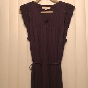 Purple LOFT dress